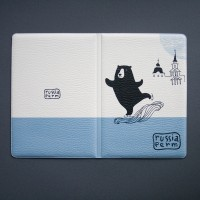 """Обложка для паспорта """"Каток на Каме"""""""