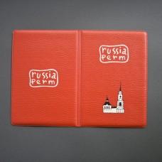 """Обложка для паспорта """"Красная галерея"""""""
