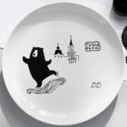 Тарелки с мишками