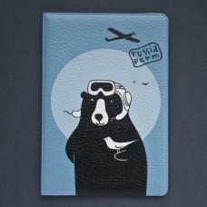 """Обложка для паспорта """"Летчик"""""""